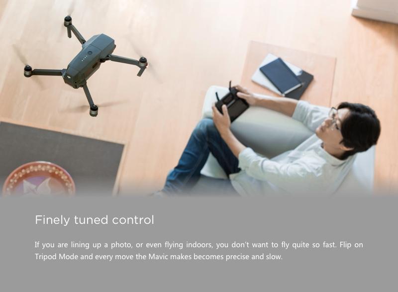 Mavic Pro Drone Finely tuned control