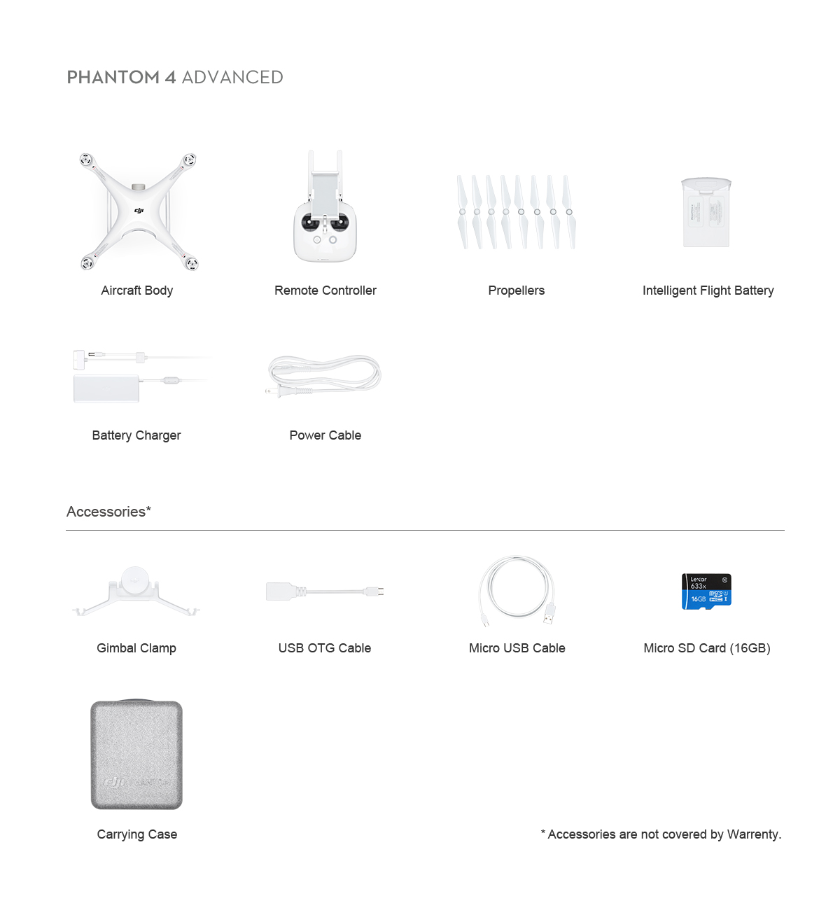 phantom 4 advanced in box