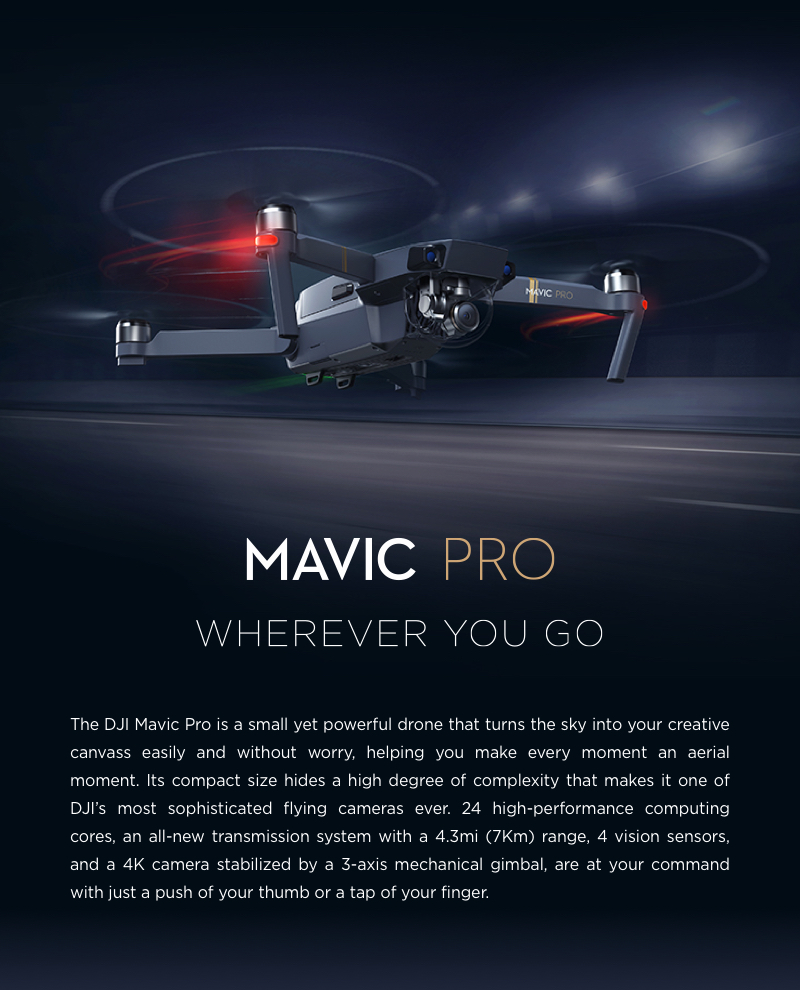 DJI Mavic Pro Drone Camera Price In Pakistan