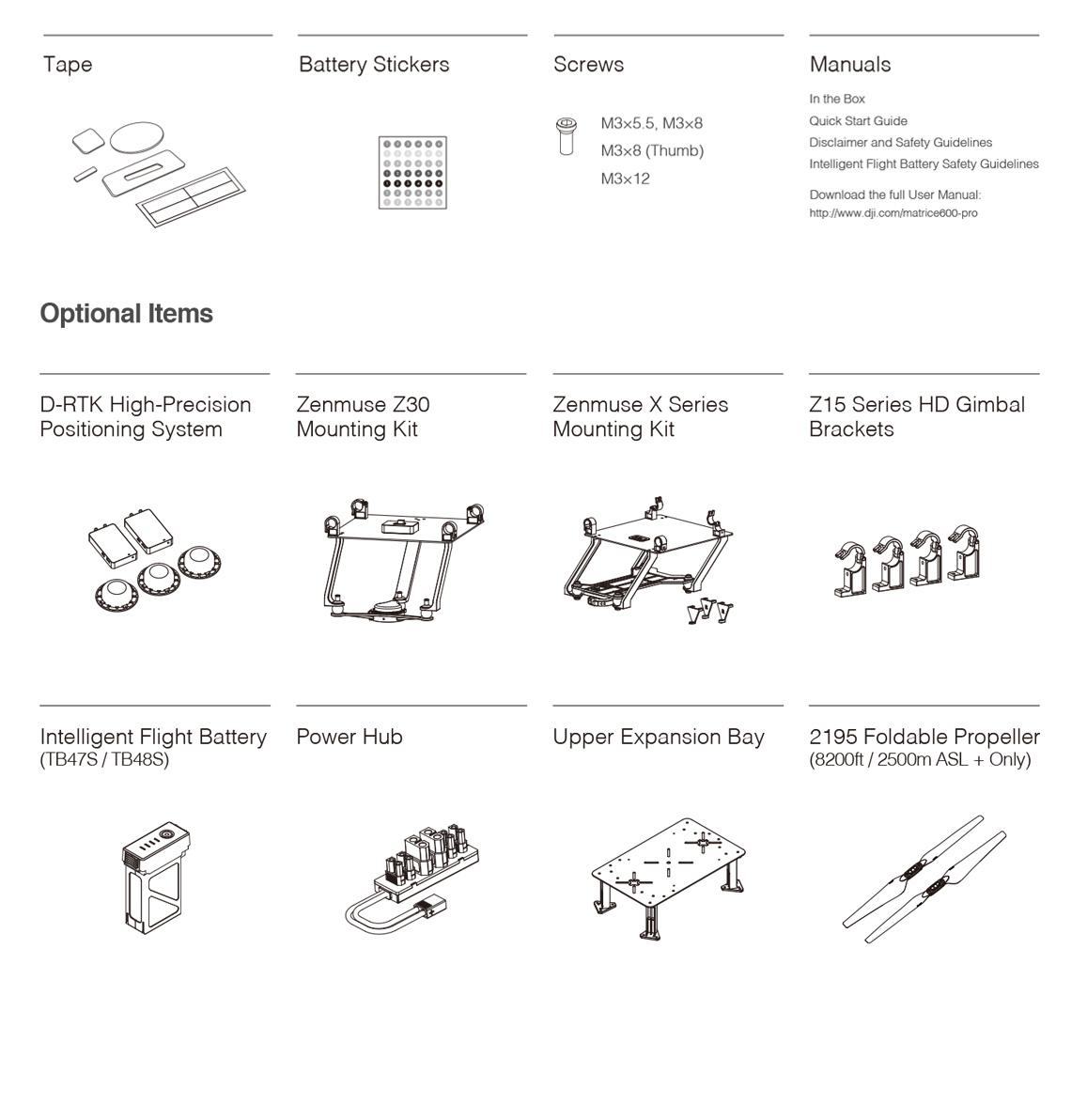 DJI Matrice 600 Pro Drone box