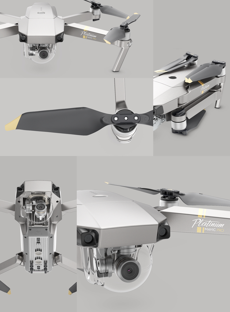 DJI Mavic Pro Folding, Compact Drone - Most Popular Drone in the World!