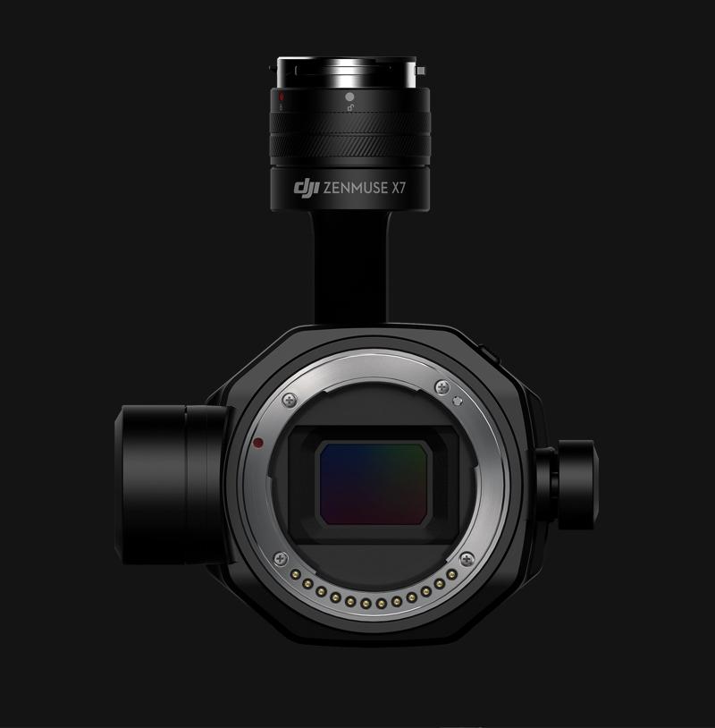 DJI X7 Sensor Lens Mount
