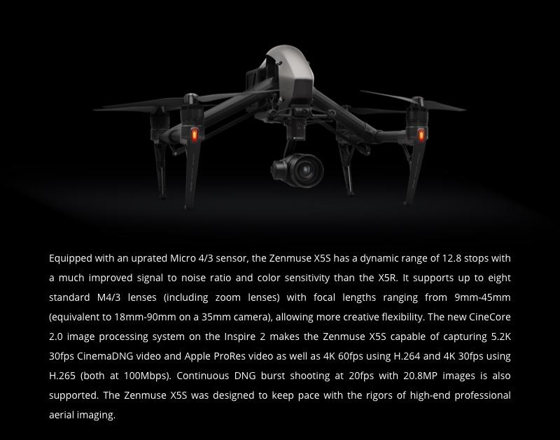Buy DJI Zenmuse X5S Camera and Gimbal