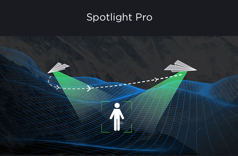 DJI Insipre 2 Spotlight Pro Flight Mode