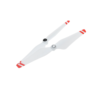 9450 Self-tightening Propellers (Composite Hub, White with Red Stripes)