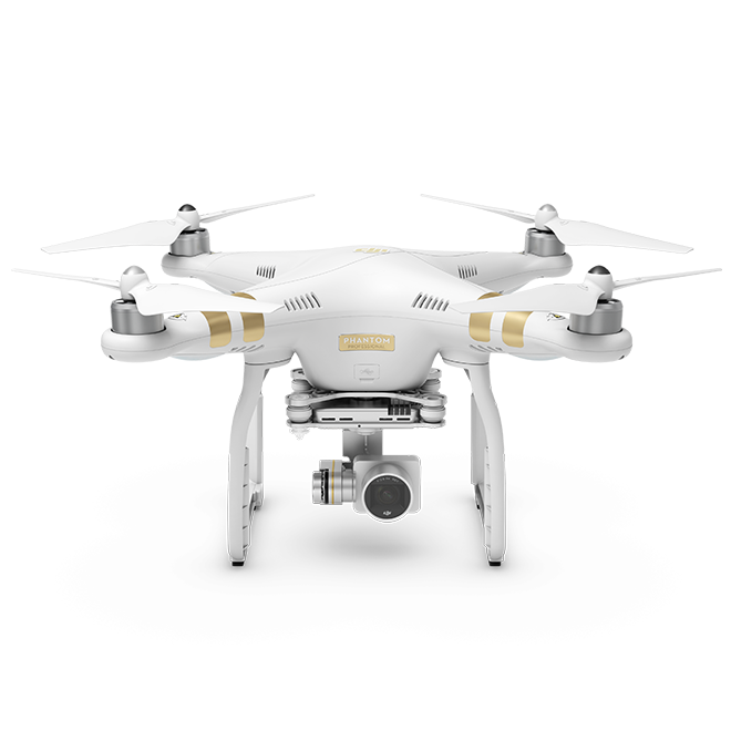 Phantom 3 Professional - Aircraft (Excludes Remote Controller and Battery Charger)