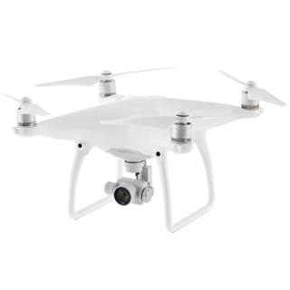 Phantom 4 - Aircraft (Excludes Remote Controller and Battery Charger)