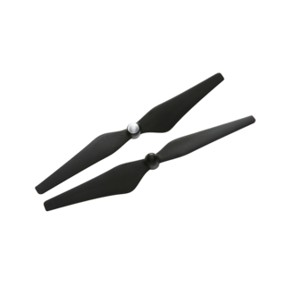9450 Carbon Fiber Reinforced Self-tightening Propellers (Composite Hub, Black)