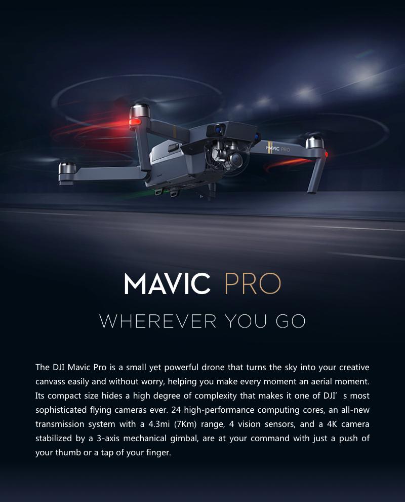 DJI Mavic Pro Fly More Combo - Mavic Pro Bundle Kit