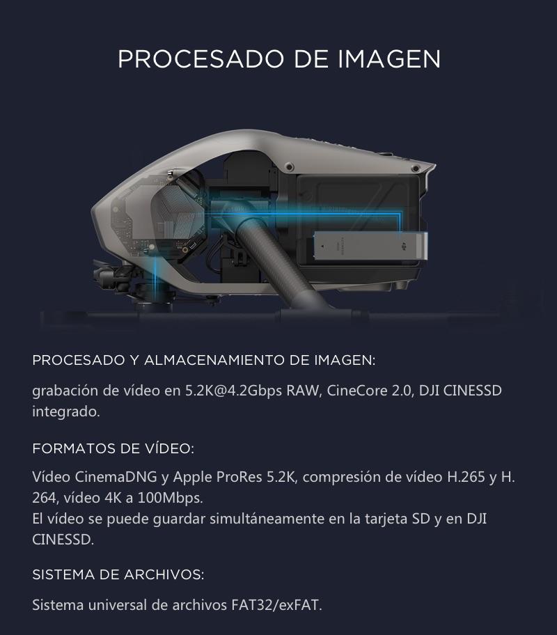 DJI Inspire 2 El primer Dron Cinematográfico 10