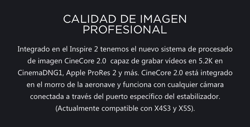 DJI Inspire 2 El primer Dron Cinematográfico 12