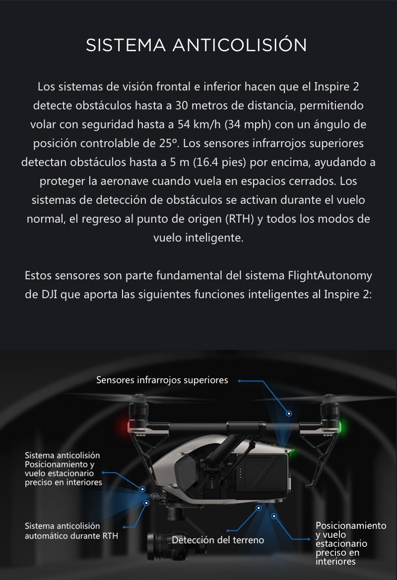DJI Inspire 2 El primer Dron Cinematográfico 16