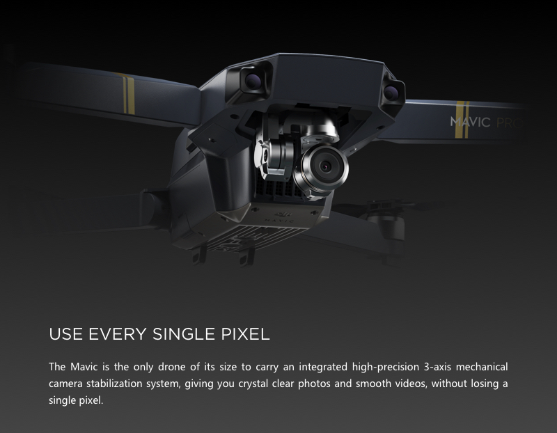 4K Camera and gimbal system for stabilized aerial video/film