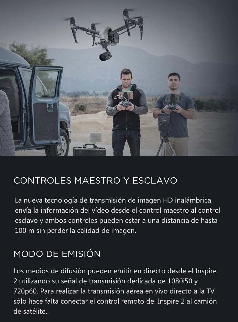 DJI Inspire 2 El primer Dron Cinematográfico 21