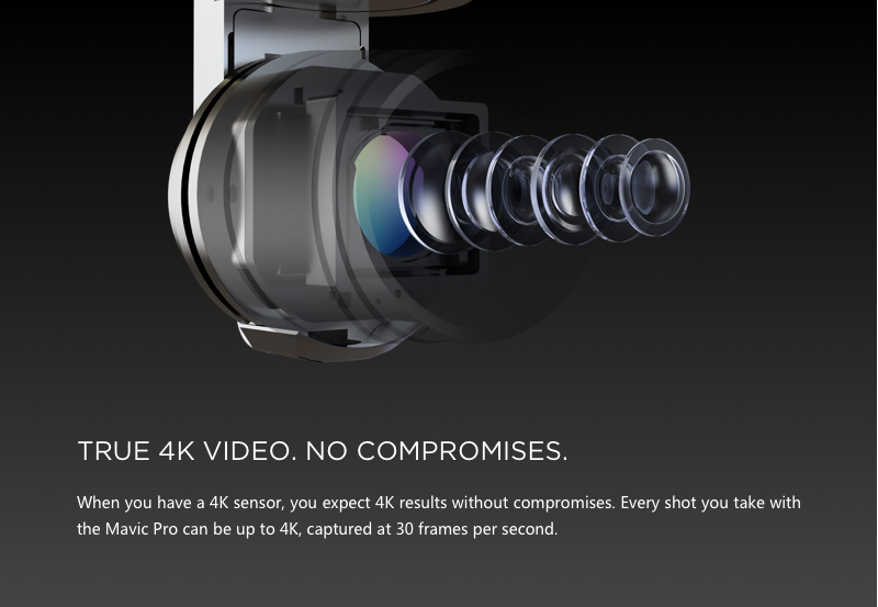 True 4K Video without any compromises