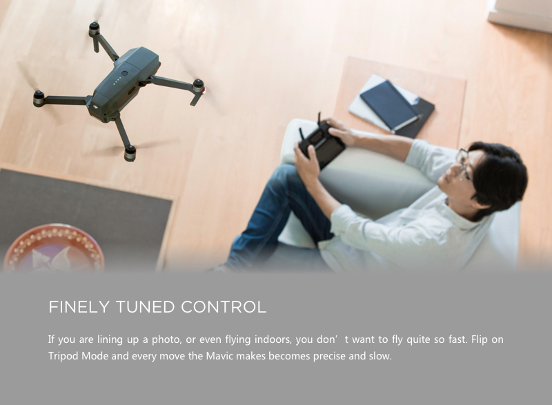 Easy to fly consumer drone, completely ready-to-fly (RTF drone)