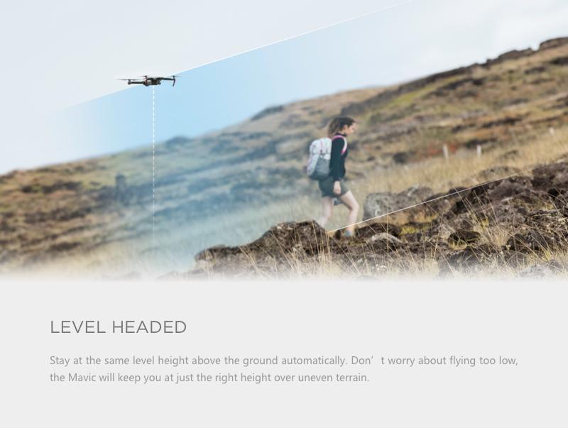 Mavic Pro is a smart aerial camera RC drone