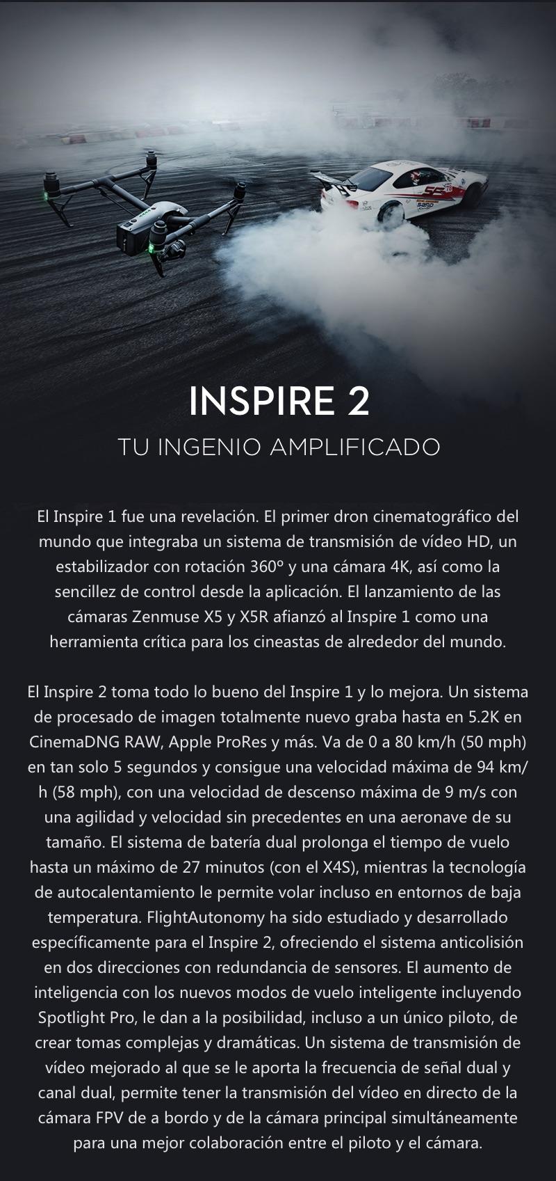 DJI Inspire 2 El primer Dron Cinematográfico 8