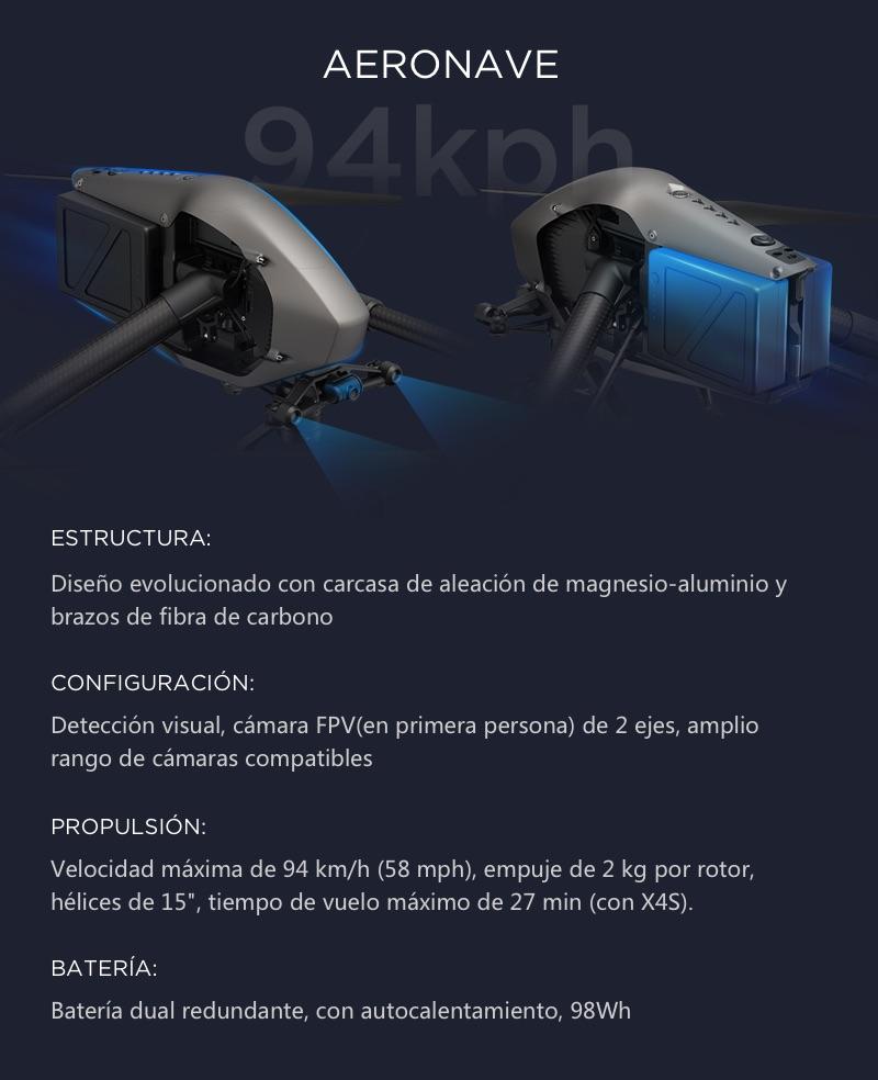 DJI Inspire 2 El primer Dron Cinematográfico 9
