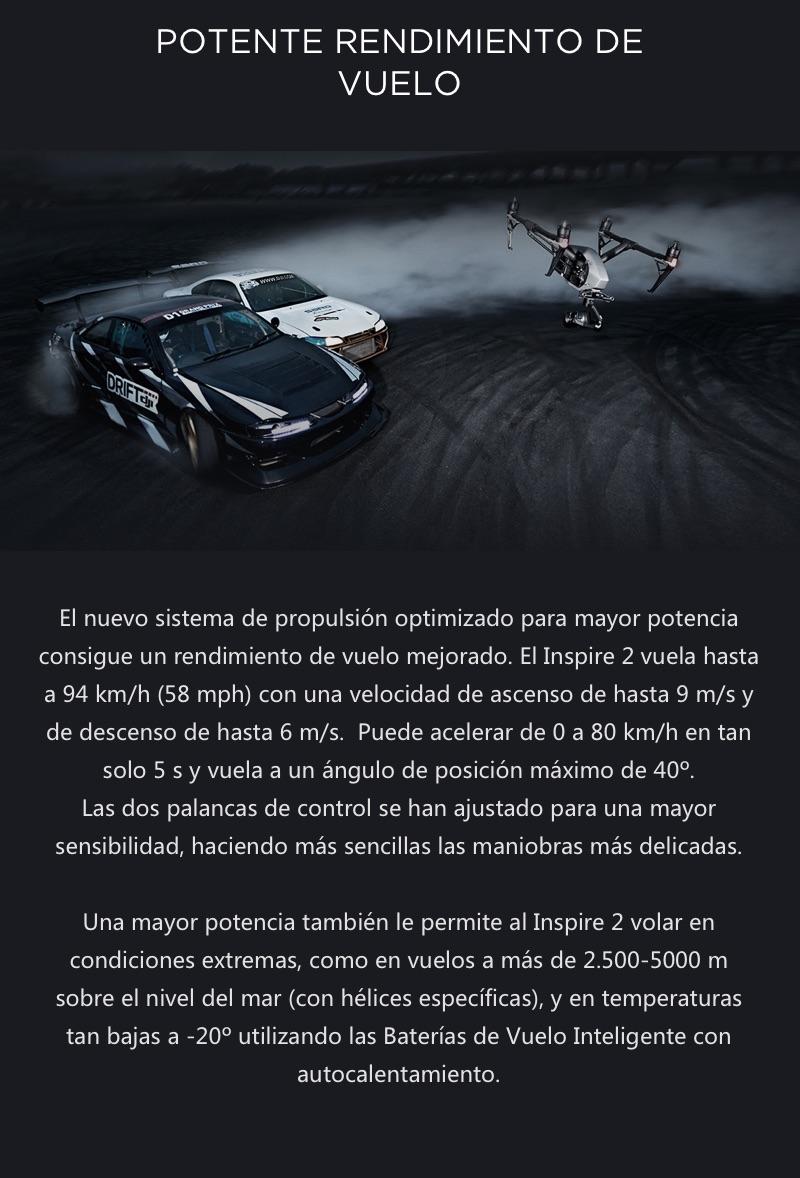DJI Inspire 2 El primer Dron Cinematográfico 22