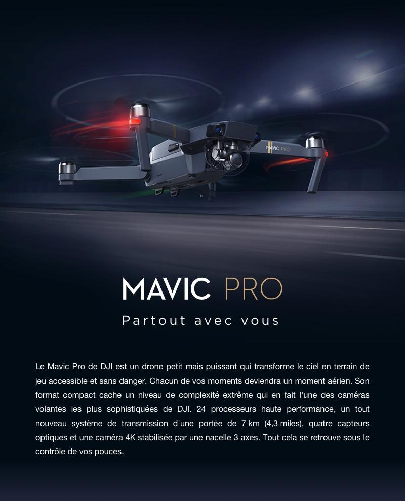 Dji Mavic Pro Rtf Kit Fly More Combo Autre Objet