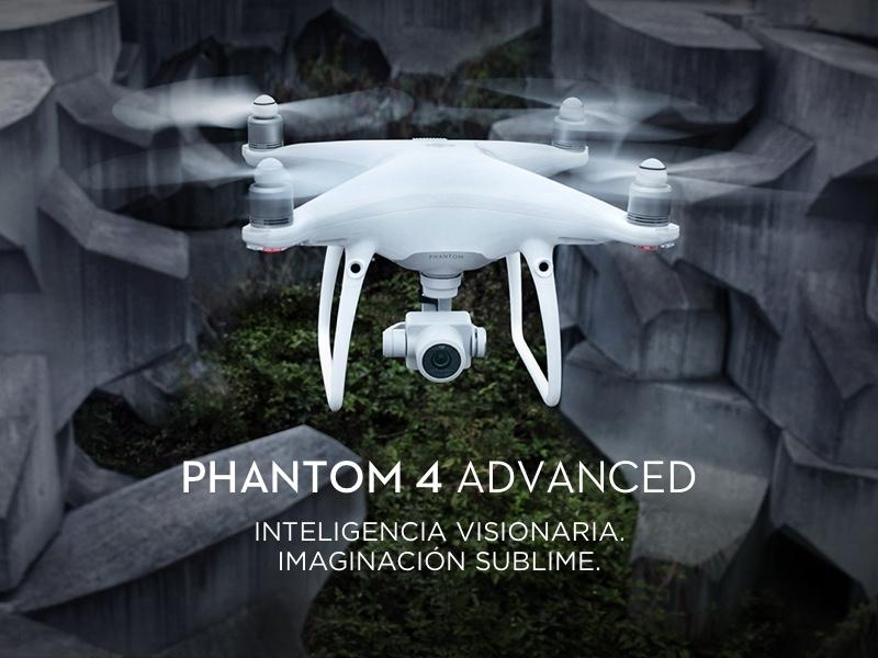 """DJI Phantom 4 Advanced+ """"El Drone con sistema de transmisión mejorado en HD"""" 7"""