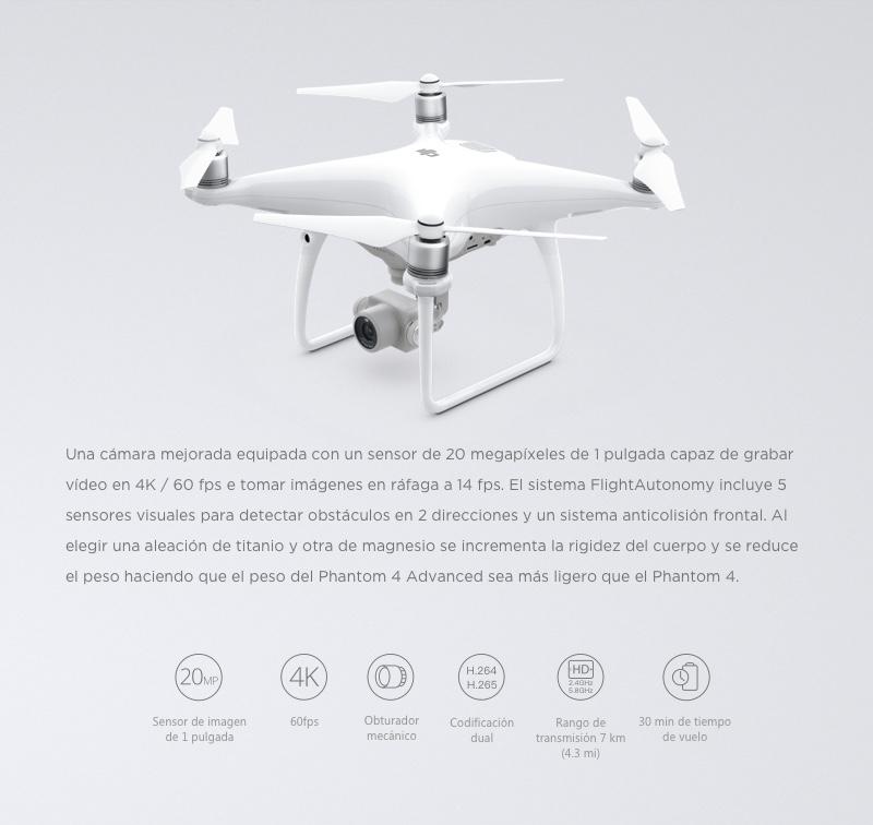 """DJI Phantom 4 Advanced+ """"El Drone con sistema de transmisión mejorado en HD"""" 8"""