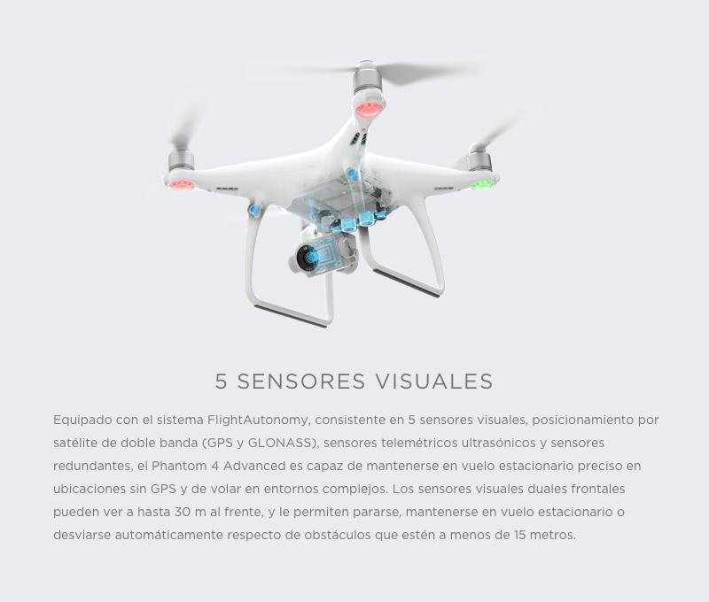 """DJI Phantom 4 Advanced+ """"El Drone con sistema de transmisión mejorado en HD"""" 9"""
