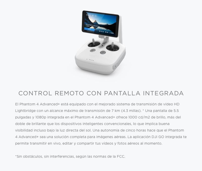 """DJI Phantom 4 Advanced+ """"El Drone con sistema de transmisión mejorado en HD"""" 10"""