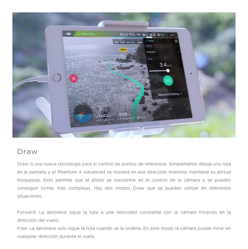 """DJI Phantom 4 Advanced+ """"El Drone con sistema de transmisión mejorado en HD"""" 12"""