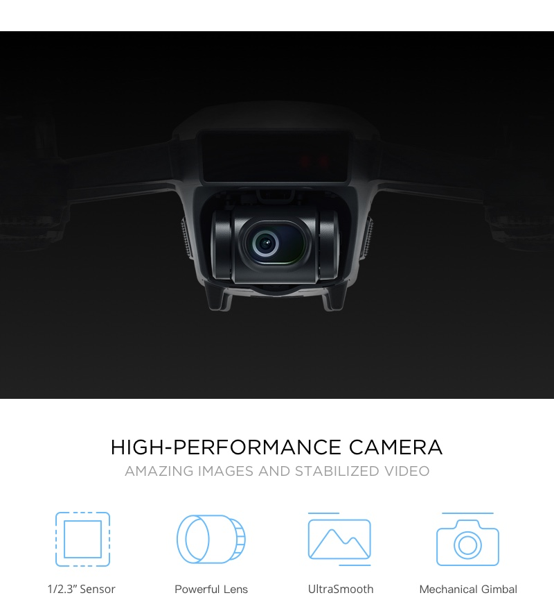 DJI Spark Drone High Performance Camera
