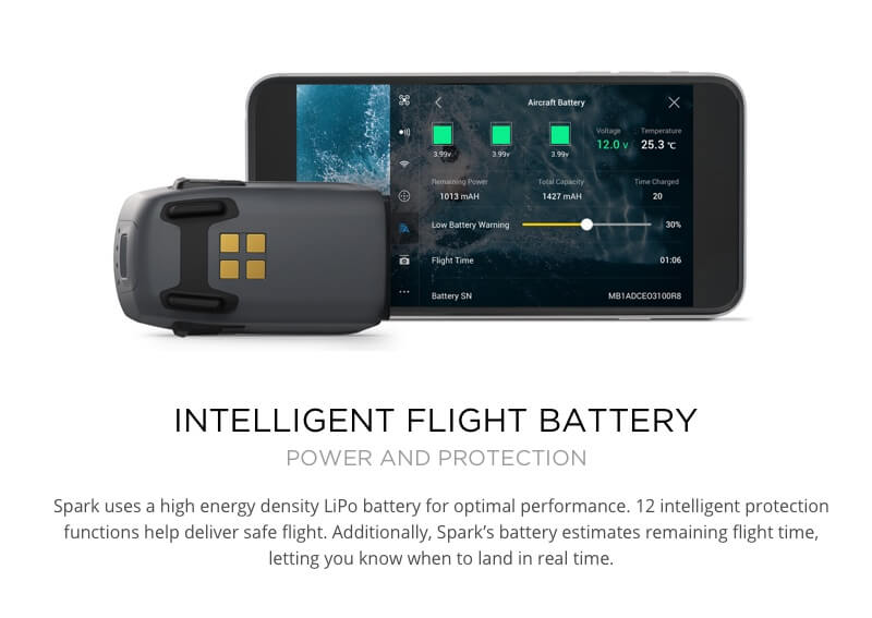 DJI Spark Drone Intelligent Flight Battery