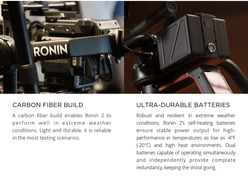 DJI Ronin 2 Pro Combo with Ready Rig GS + ProArm Kit with Case
