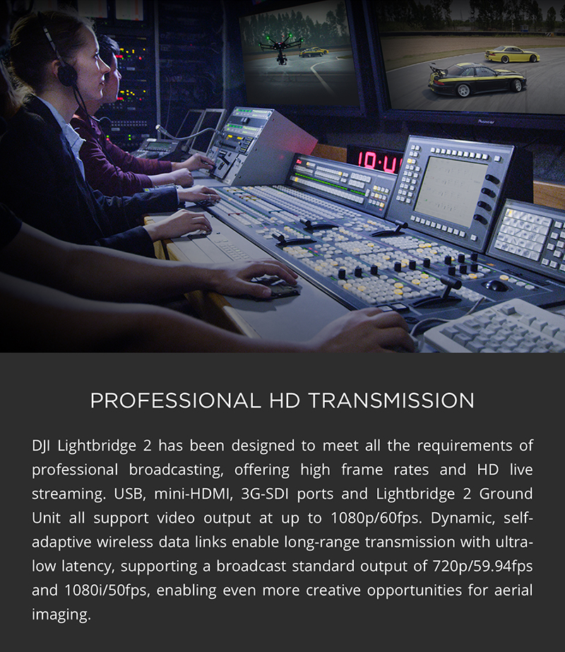 Protected DJI Matrice 600 Pro - Professional HD Transmission