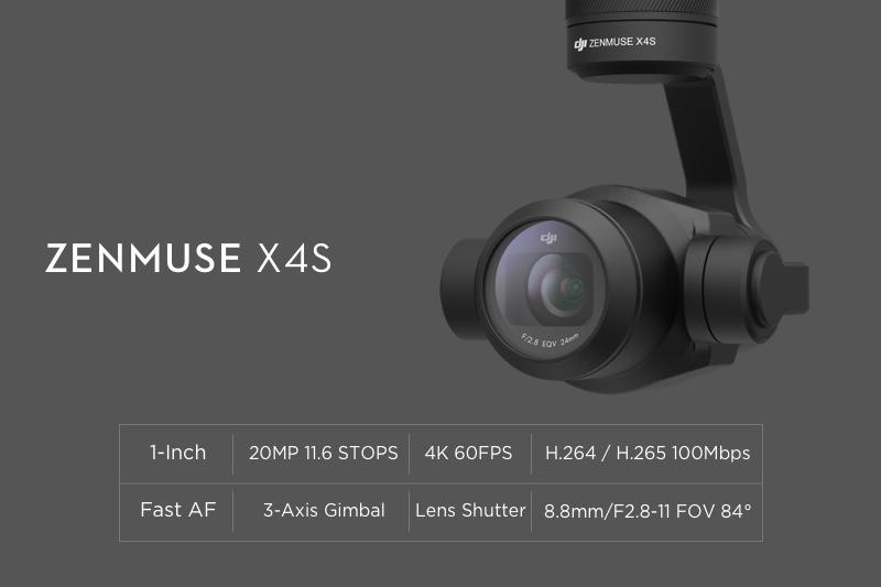 DJI Zenmuse X4S Specs