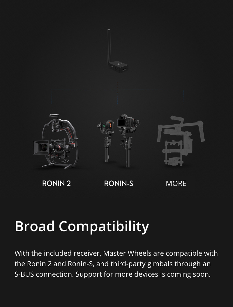 DJI Master Wheels Compatibility