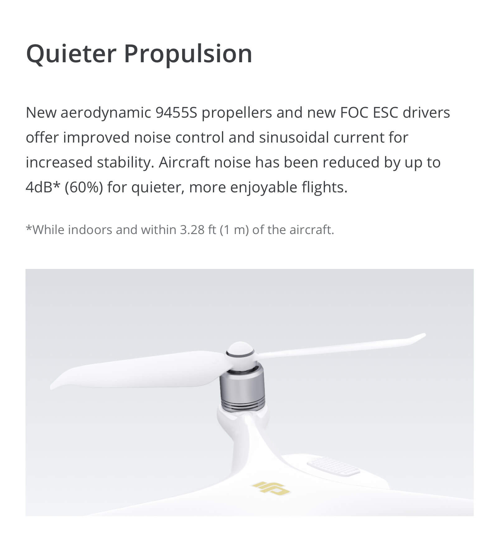 DJI Phantom 4 Pro V2.0 Low-Noise Propellers