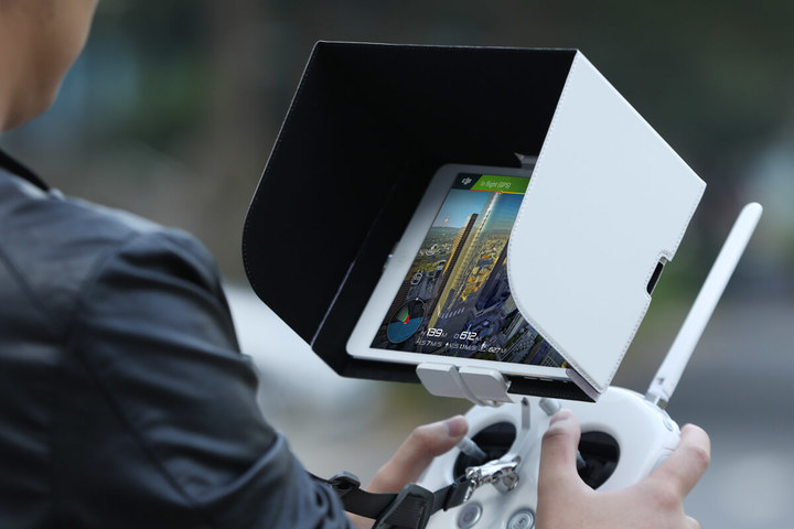 dji remote controller monitor hood for tablets