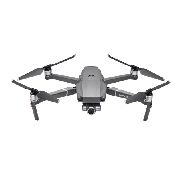 Mavic 2 Zoom Aircraft (Excludes Remote Controller and Battery Charger)
